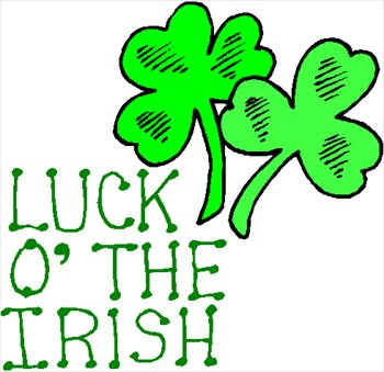 Irish clipart. Luck of the