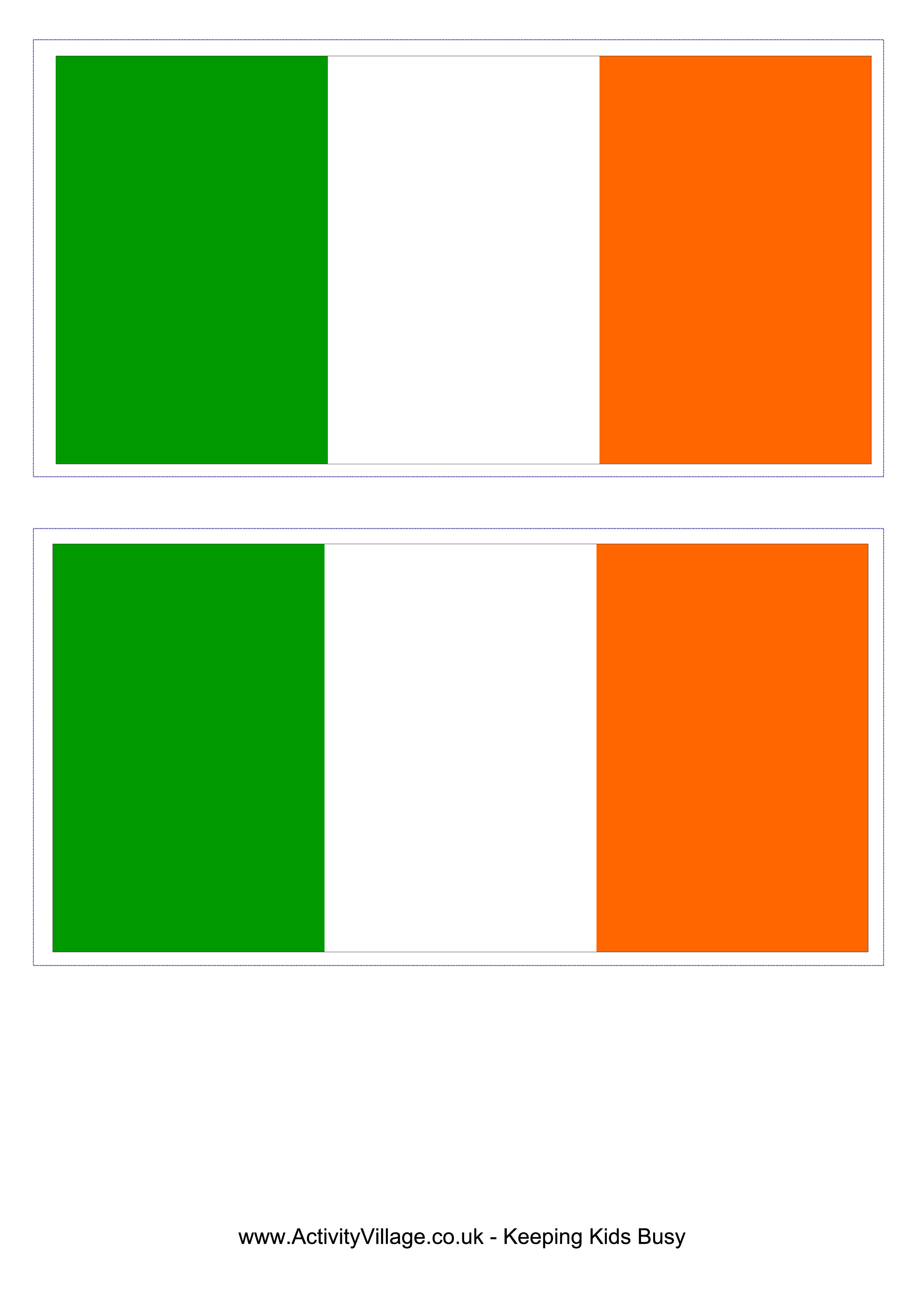 Irish clipart flag. Approved of ireland printable