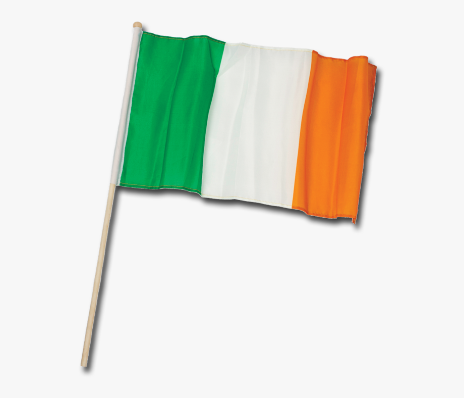 Ireland transparent pole png. Irish clipart flag