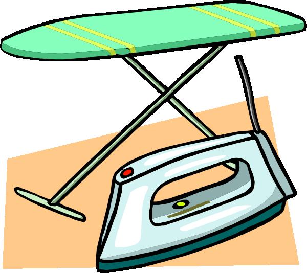 Lady clipart ironing. Iron panda free images