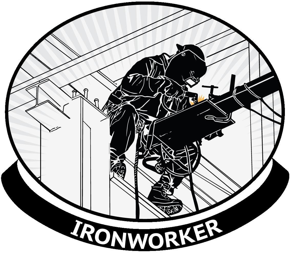 Welding clipart transparent. Ironworker careers weldlink career