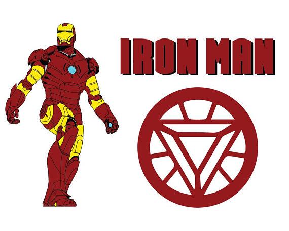 Iron man svg superhero. Ironman clipart