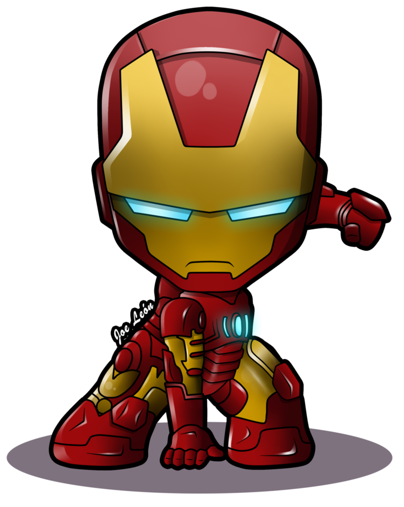 Cartoon Iron Man Clipart