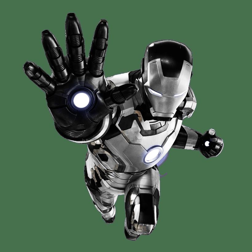 Iron man images black. Ironman clipart manblack white