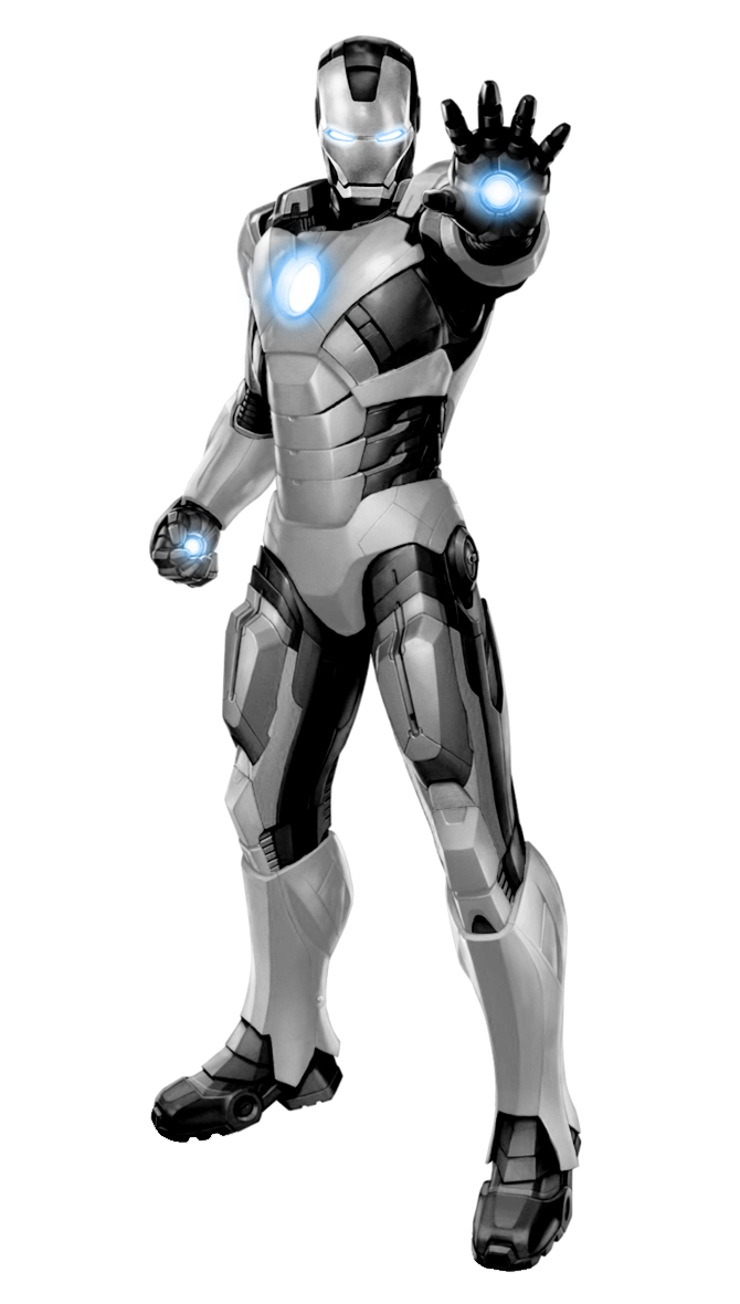 Ironman clipart manblack white. Iron man black scheme