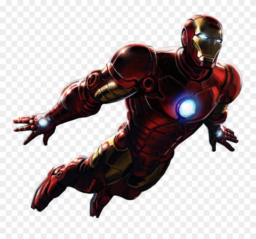 Ironman clipart transparent background. Iron man d png
