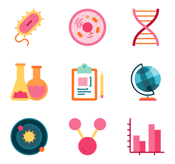 Is a png a vector. Laboratory icons free scientific