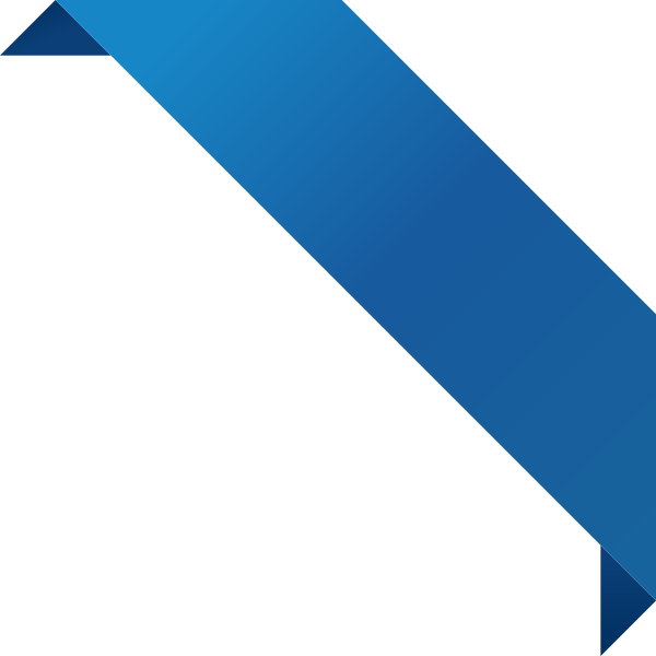 Corner ribbon blue data. Is a png a vector