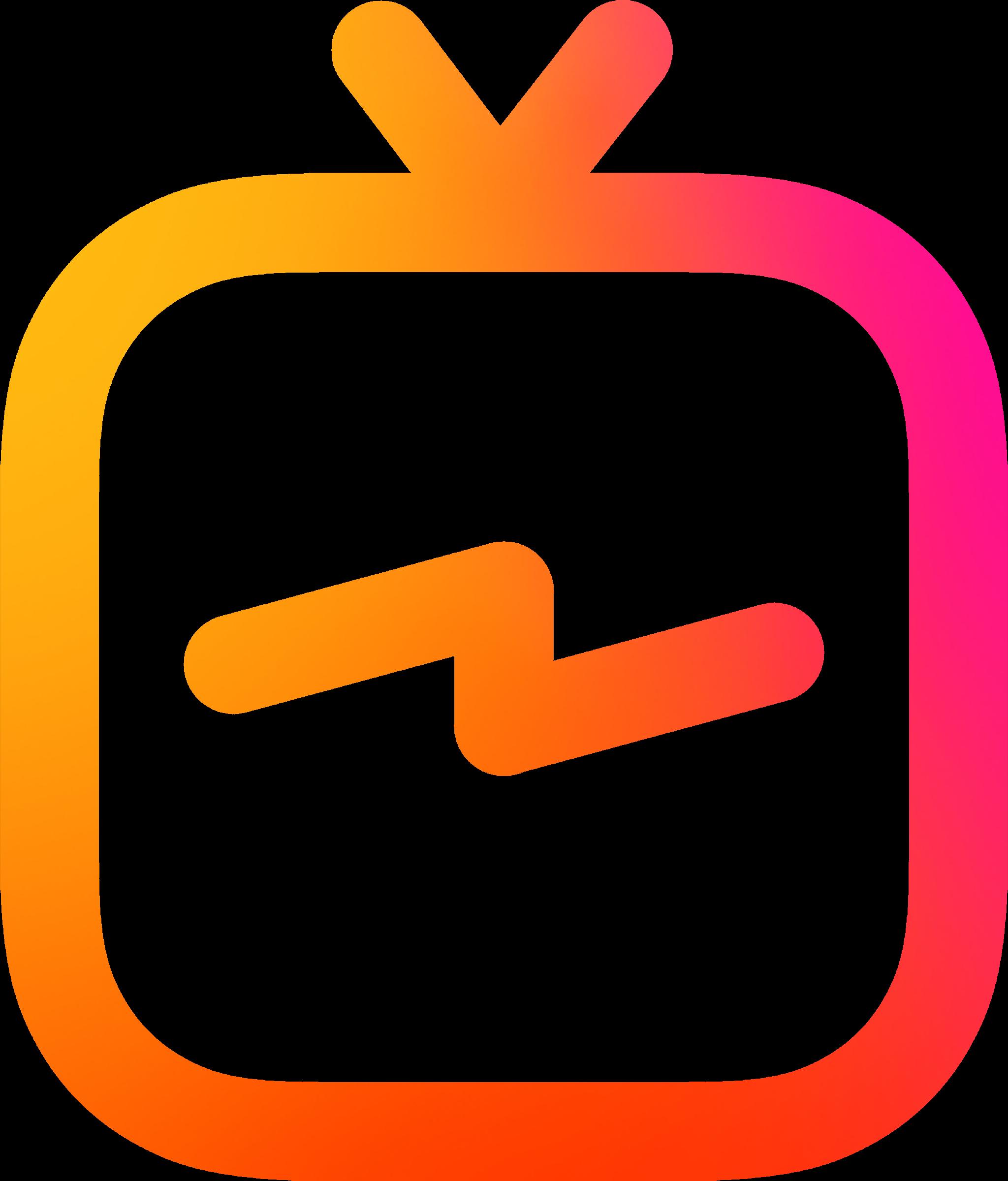 Is png vector. Igtv logo transparent svg