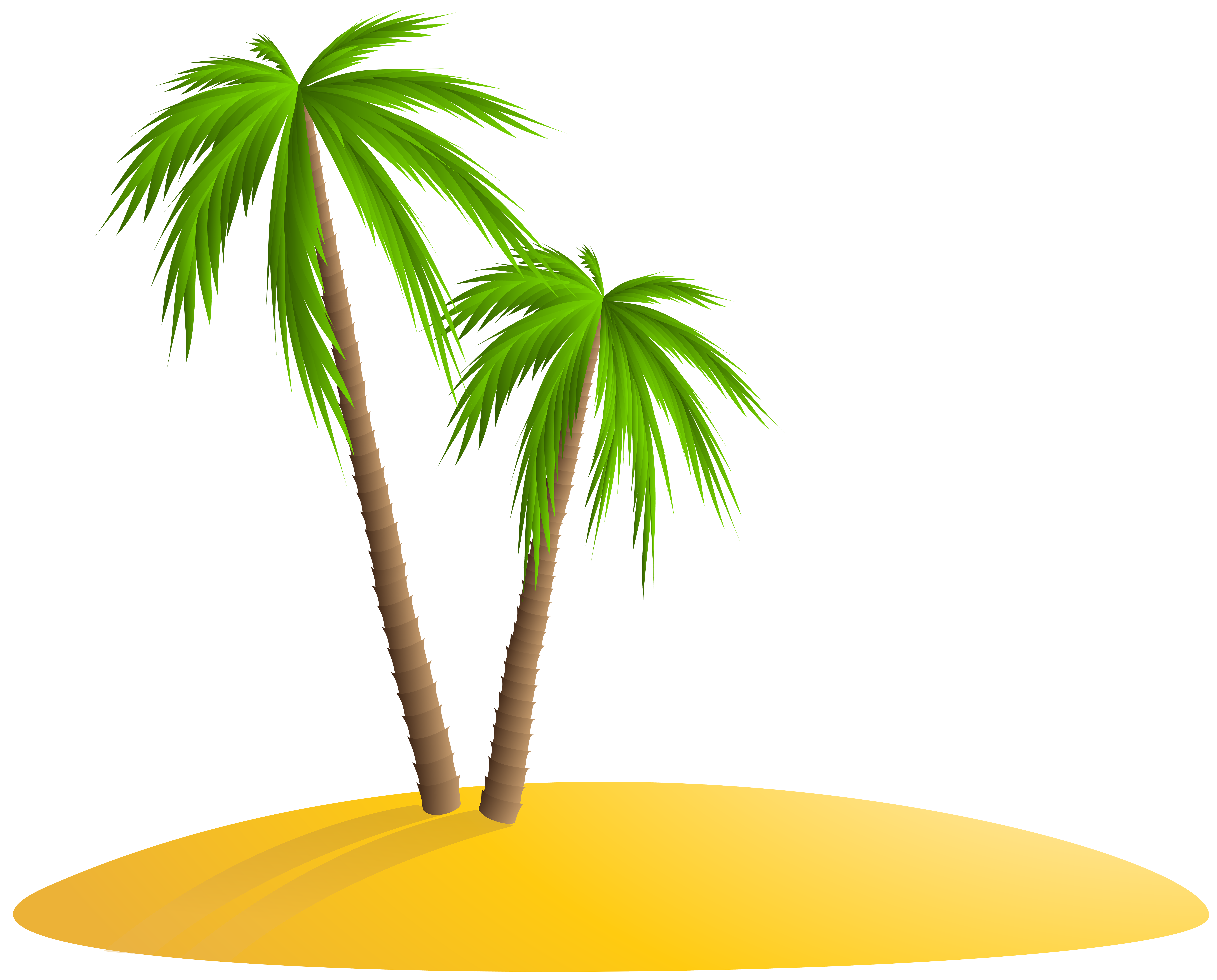 Palm png clip art. Island clipart