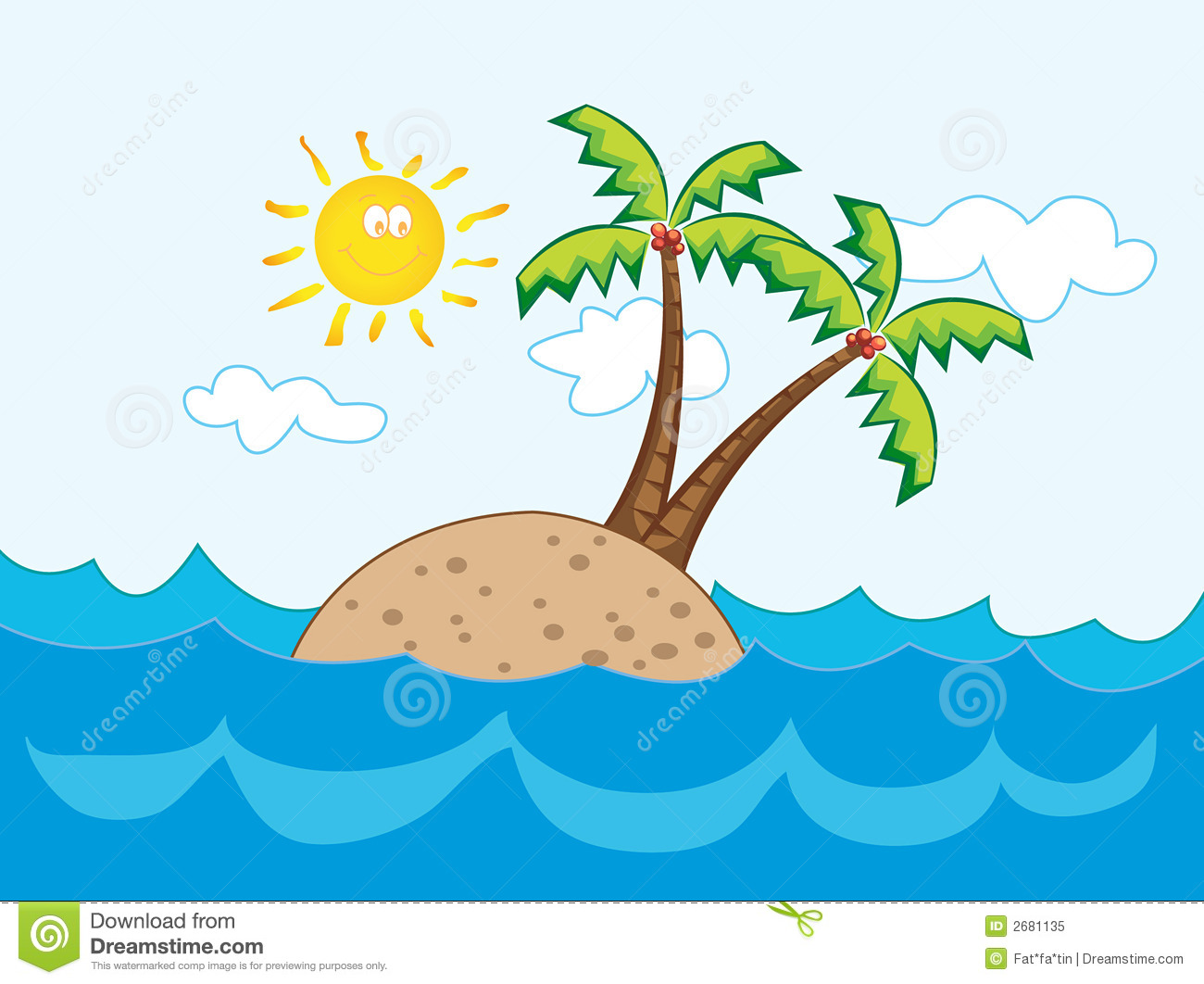 Island clipart cartoon. Free islands download clip