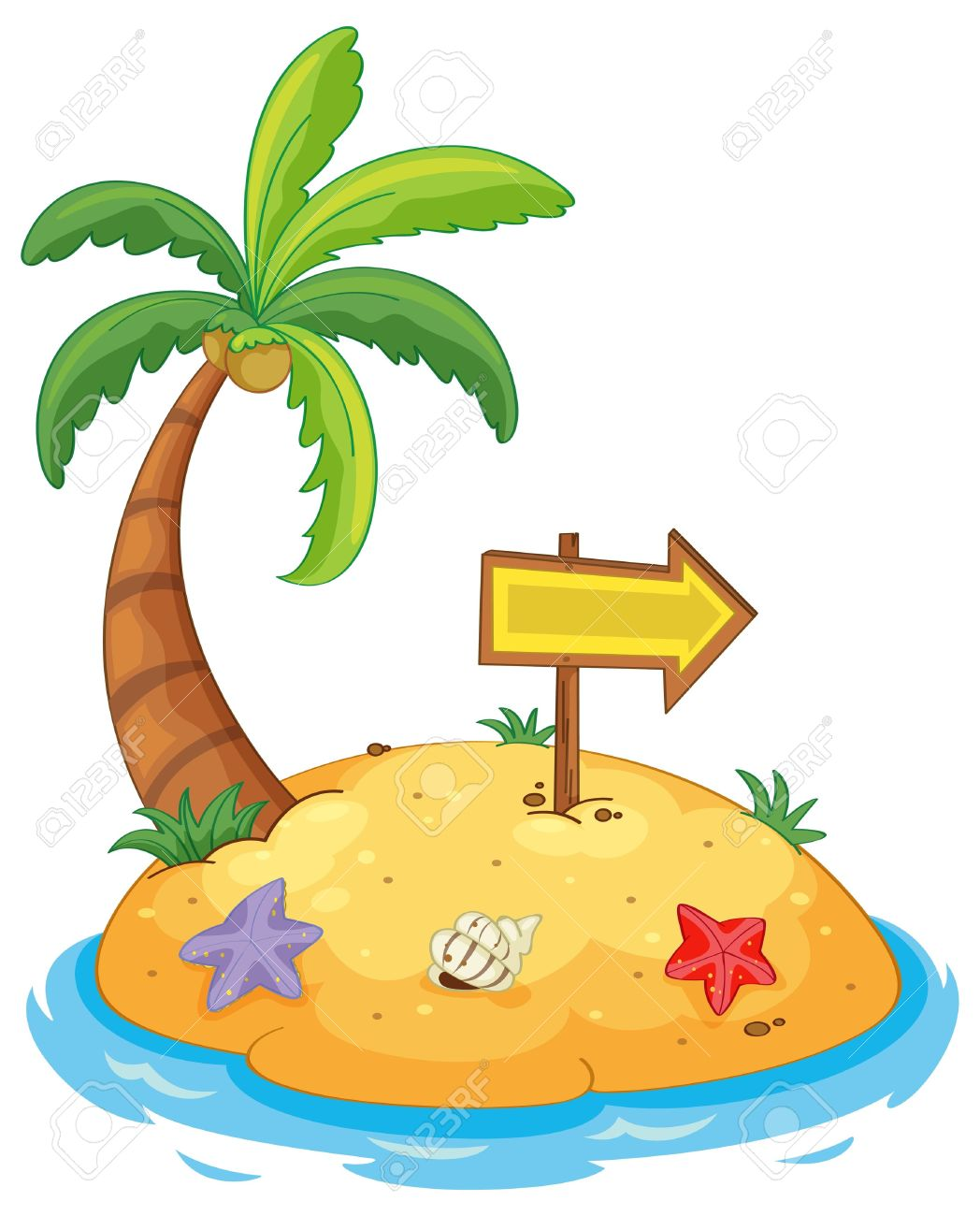 Island clipart cartoon.  clip art clipartlook