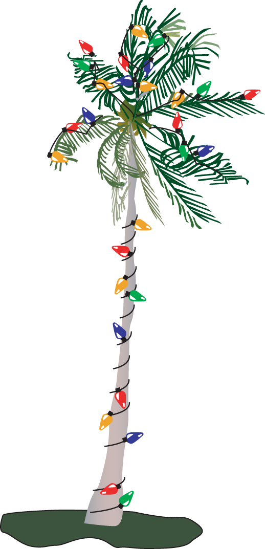 collection of tree. Palm clipart buko