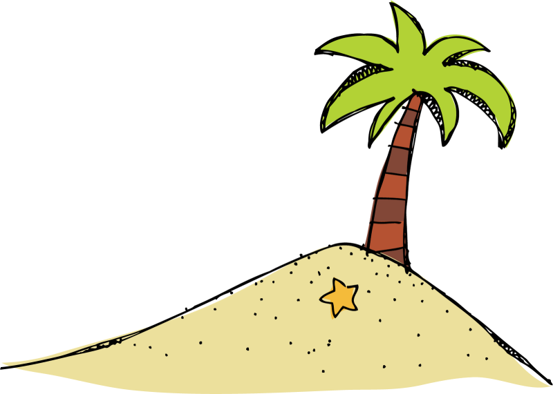 Island clipart desserted. Ourclipart pin