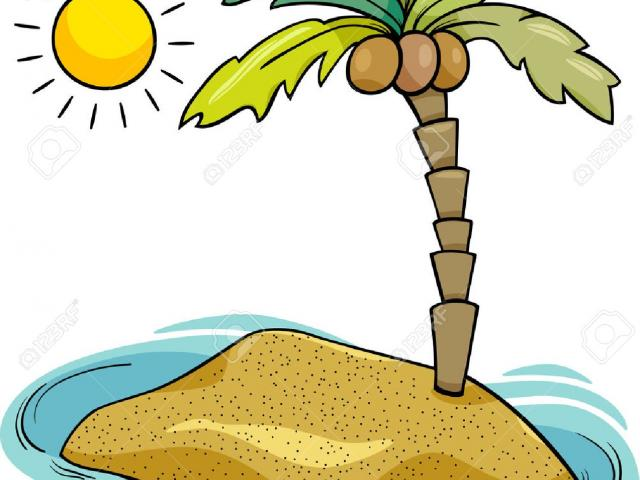 Island clipart distant. Free download clip art