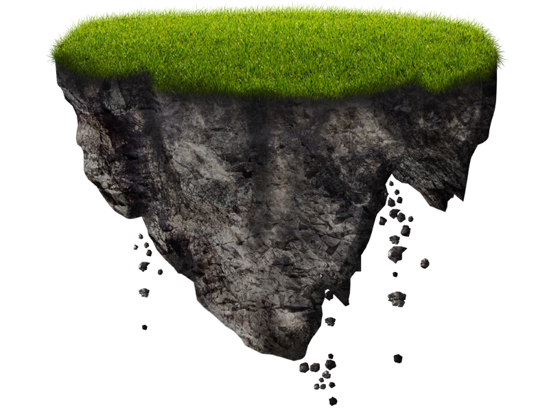 Island transparent pluspng floating. Free png images for photoshop