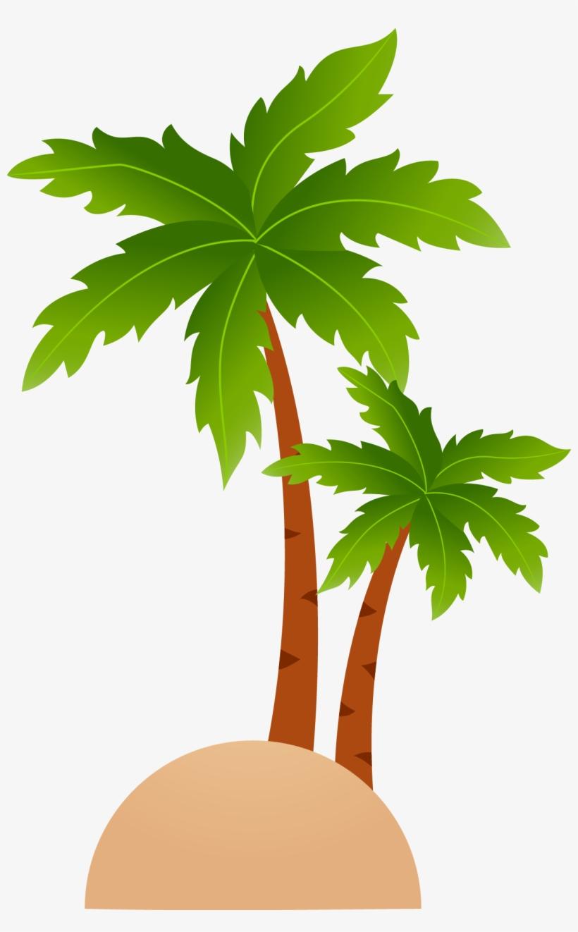 Island clipart mini tree. Tropical islands resort cartoon