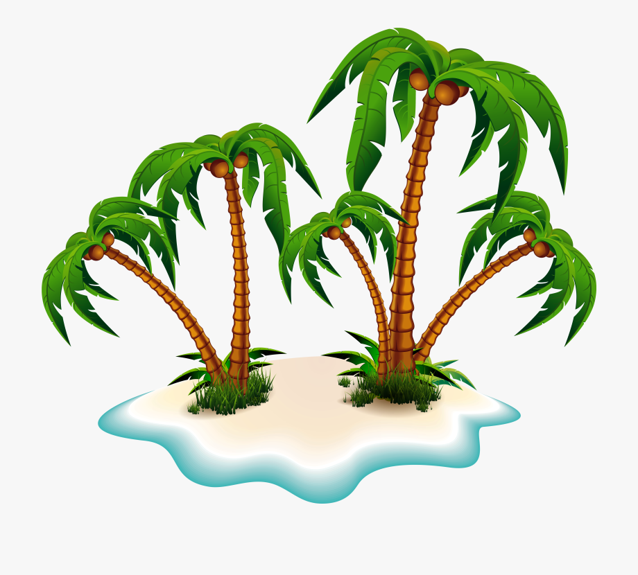 Tree png transparent . Palm clipart moana