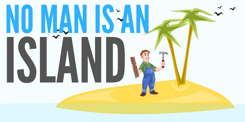 Work pngline . Island clipart no man is an island