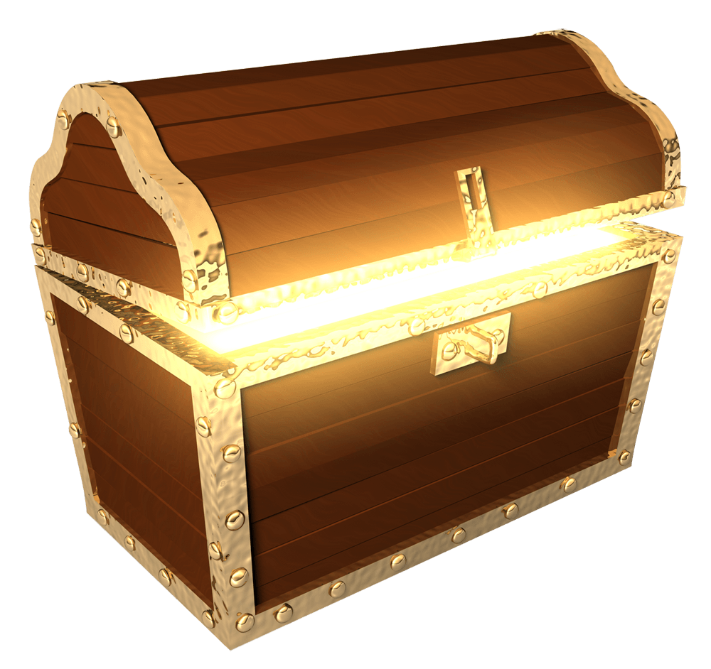 Png images free download. Prize clipart treasure chest