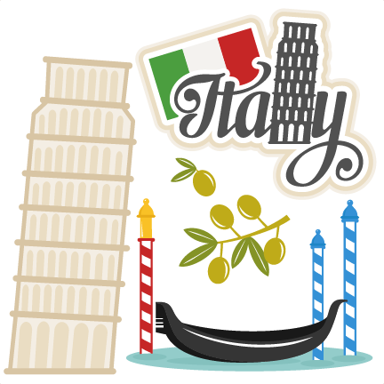 The top best blogs. Italian clipart