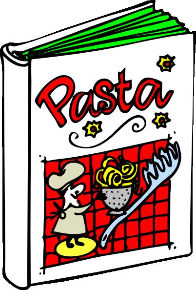 Cooking book clip art. Italian clipart