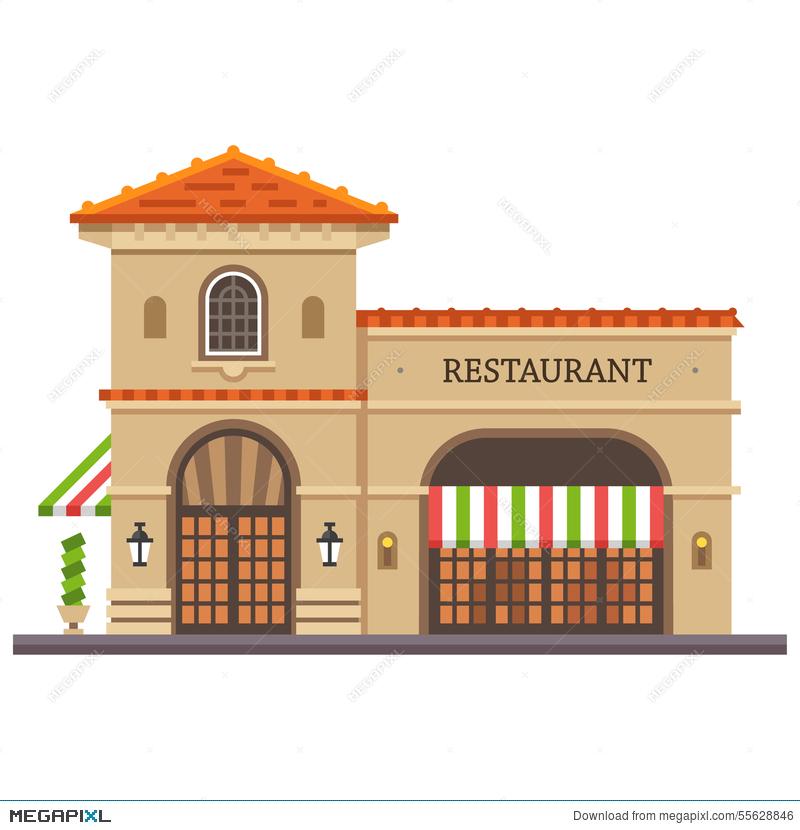 italian clipart building italian