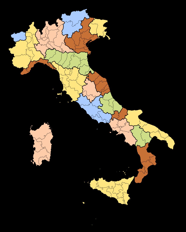 Regions of wikipedia . Italy clipart man italian