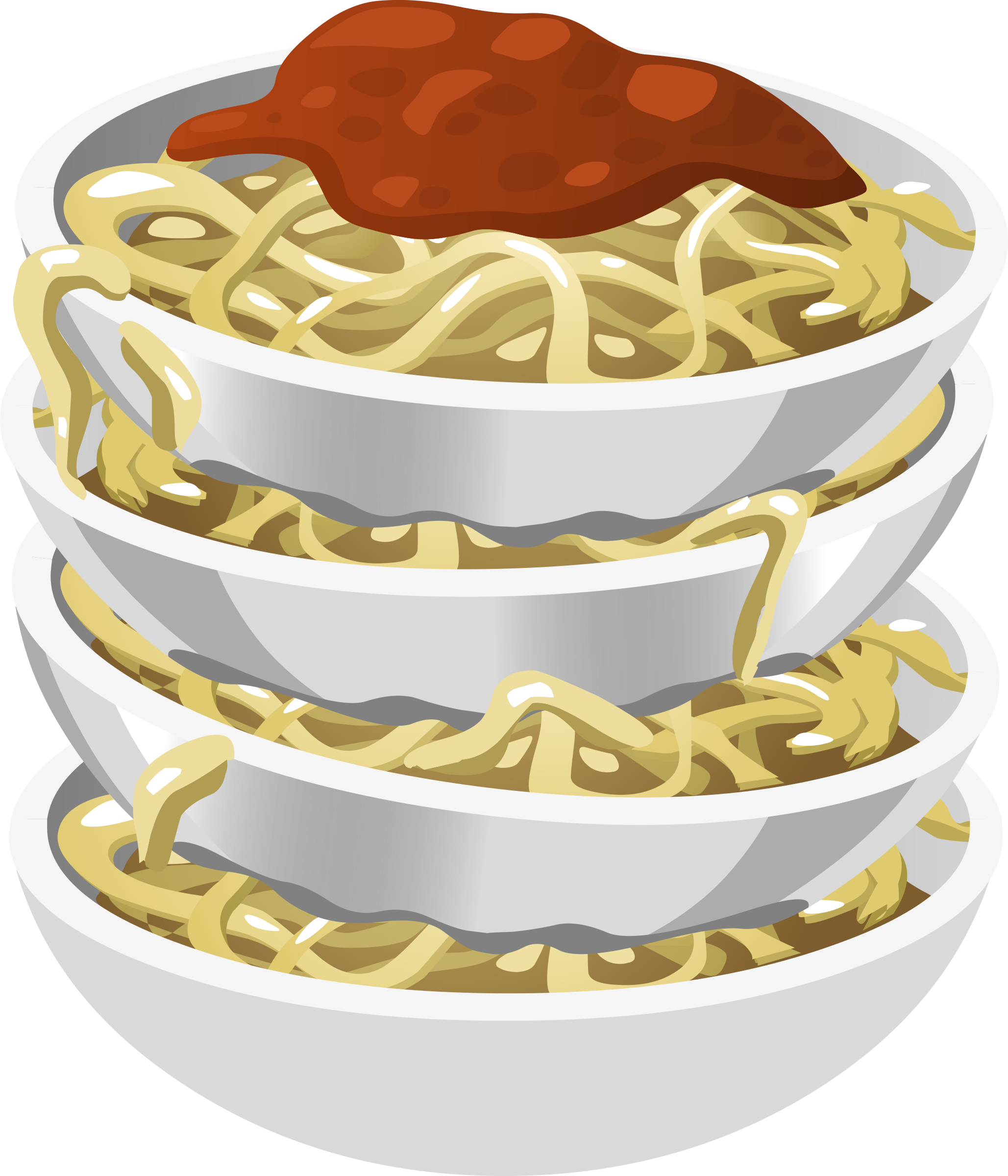 Food Tasty Pasta Icons PNG