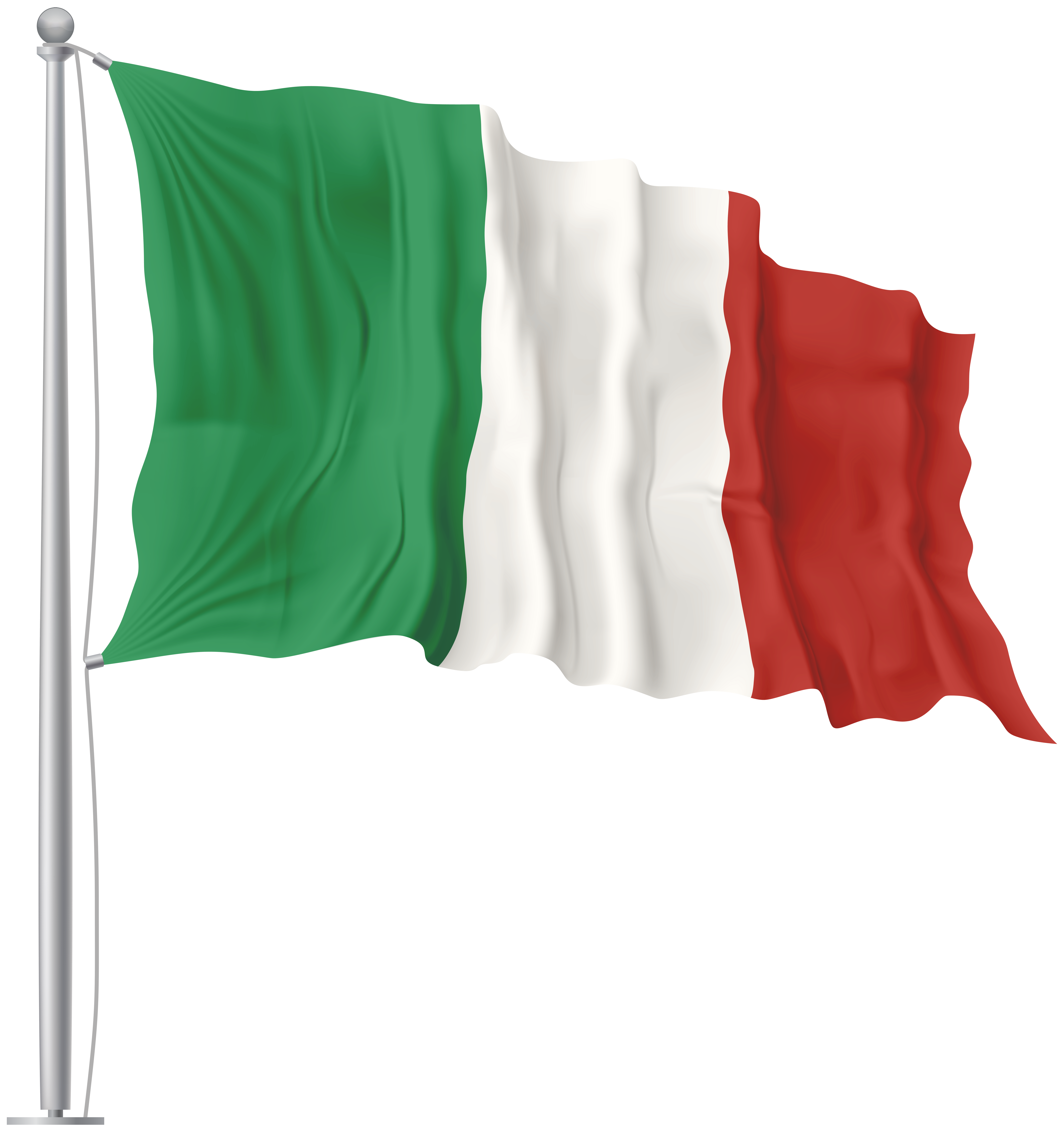Mexico clipart transparent. Italy waving flag png