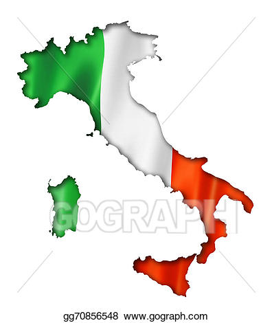 Italian clipart map italy. Drawing flag gg gograph