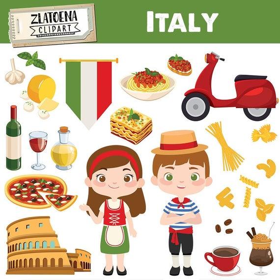Rome clipart italy clipart. Italian clip art pizza