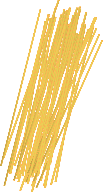 Uncooked noodles medium image. Pasta clipart spaghetti noodle