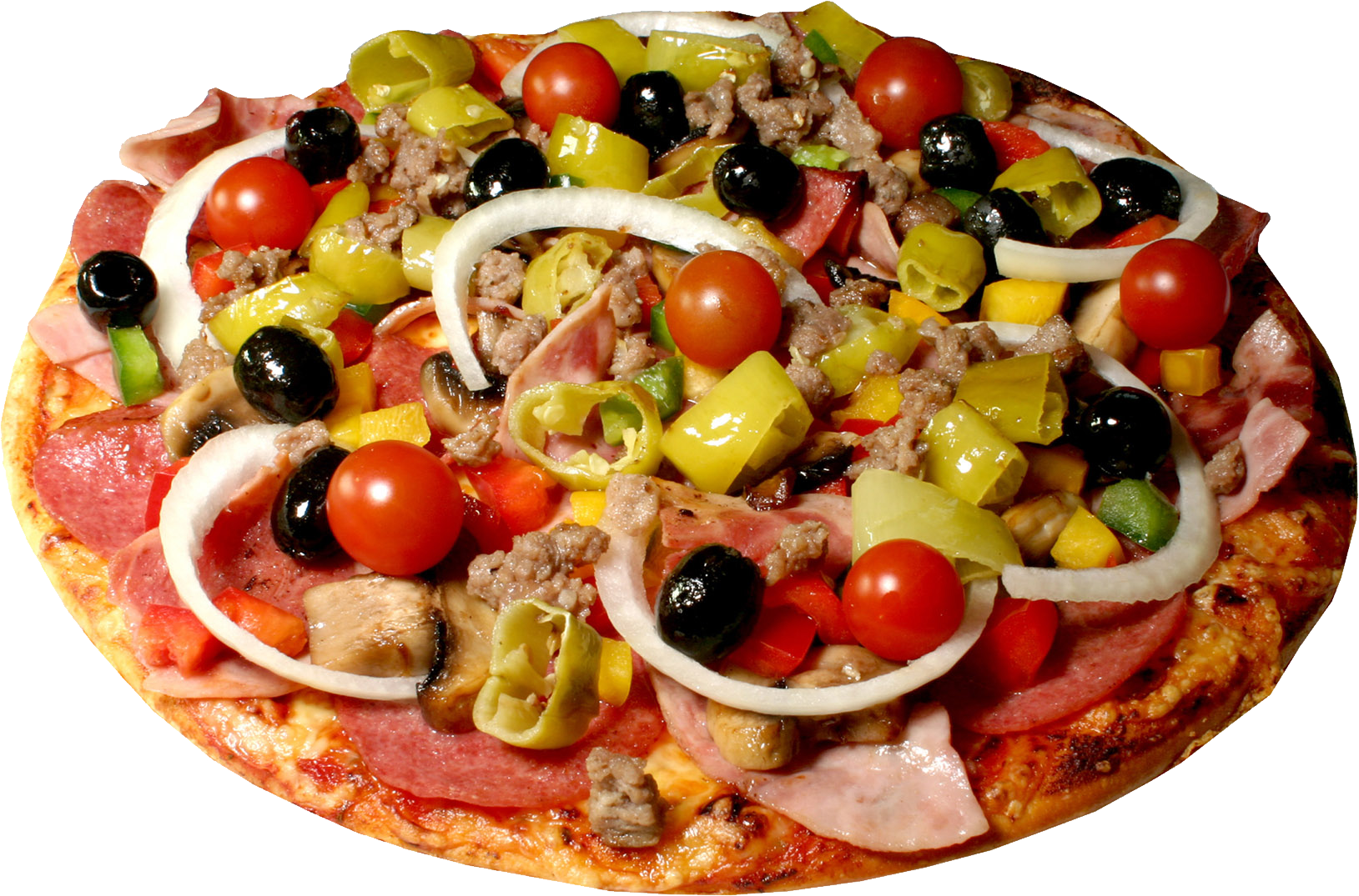 In png web icons. Pizza clipart salad