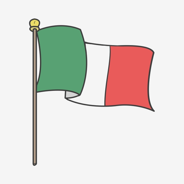 Italy clipart flag italian. Png vector psd and