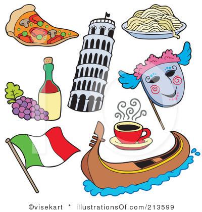 Clip art italian ingredients. Italy clipart