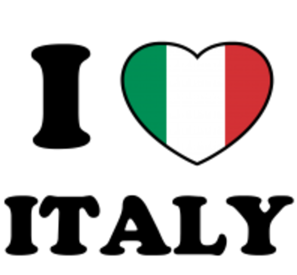 D x front free. Italy clipart love