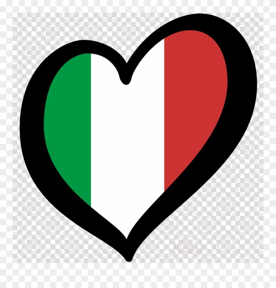 Italy clipart love. Esc flag of eurovision