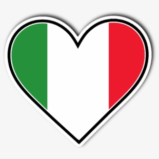 Italy clipart love. Heart italian flag png