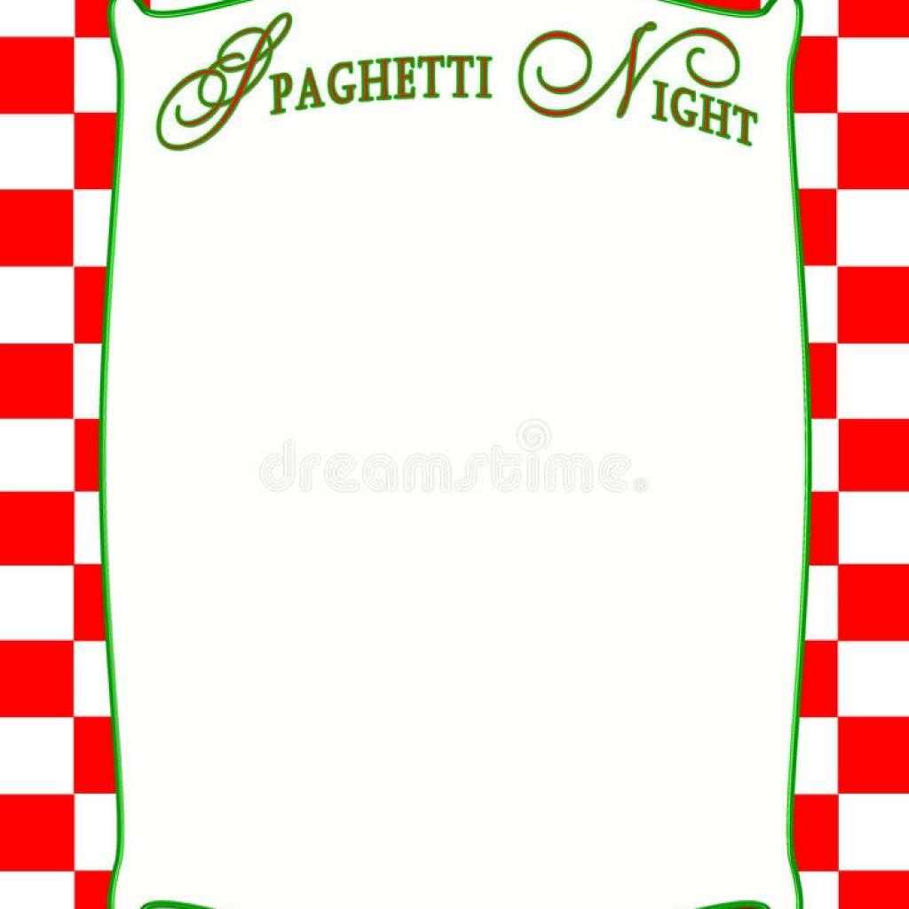 Italy clipart night italian. Menu border printables and