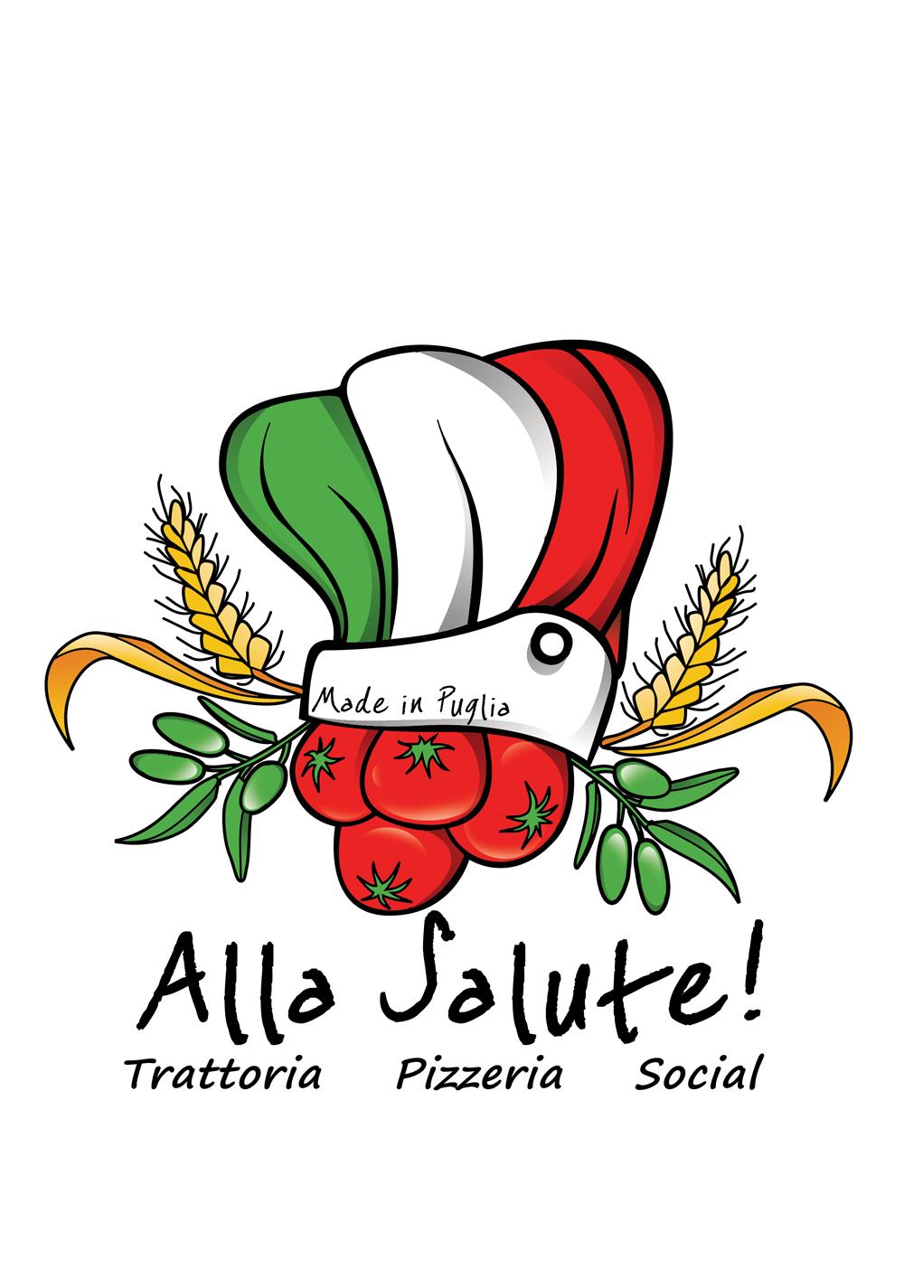 Alla salute southern pizzeria. Italy clipart restaurant italian