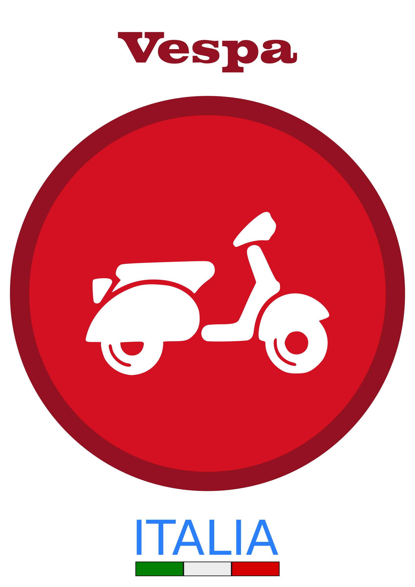 By dordy series of. Scooter clipart vespa italian