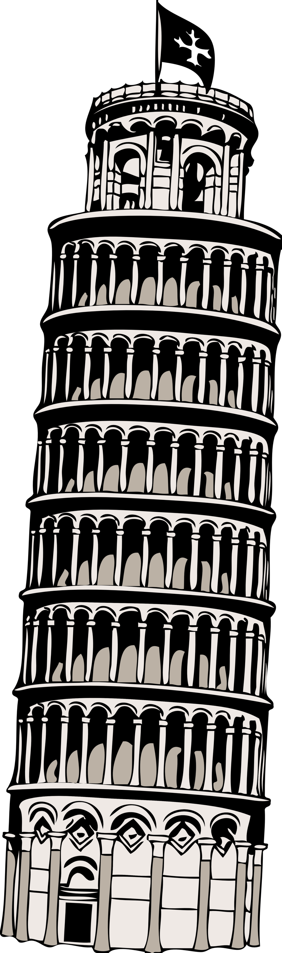 italy clipart tower