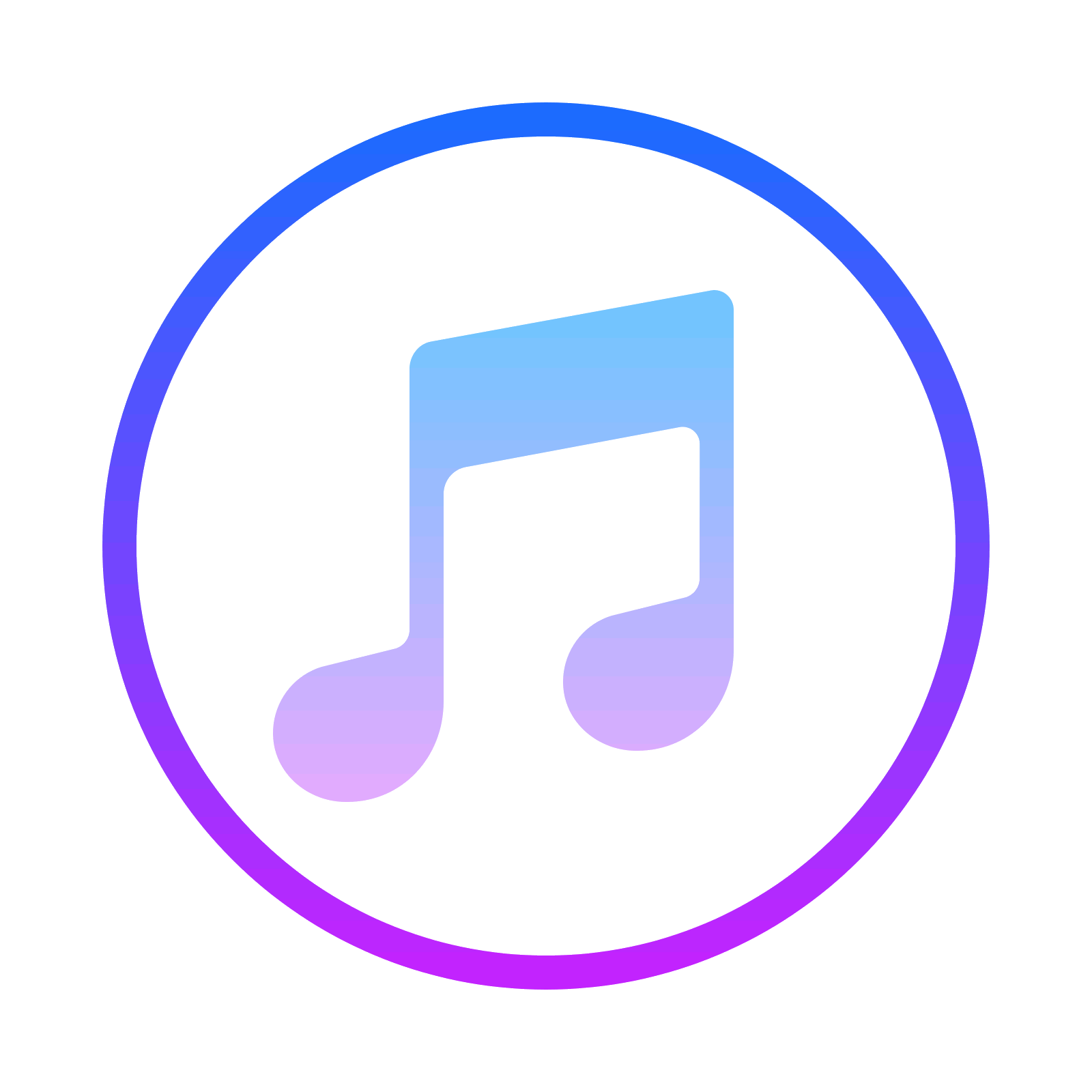 Free download and vector. Itunes icon png