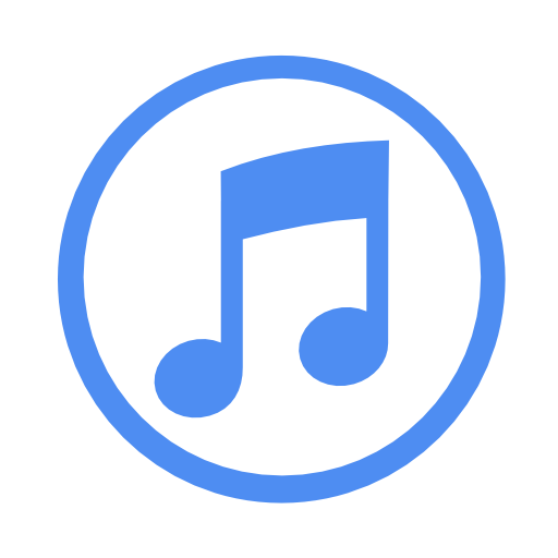 Blue download free icons. Itunes icon png