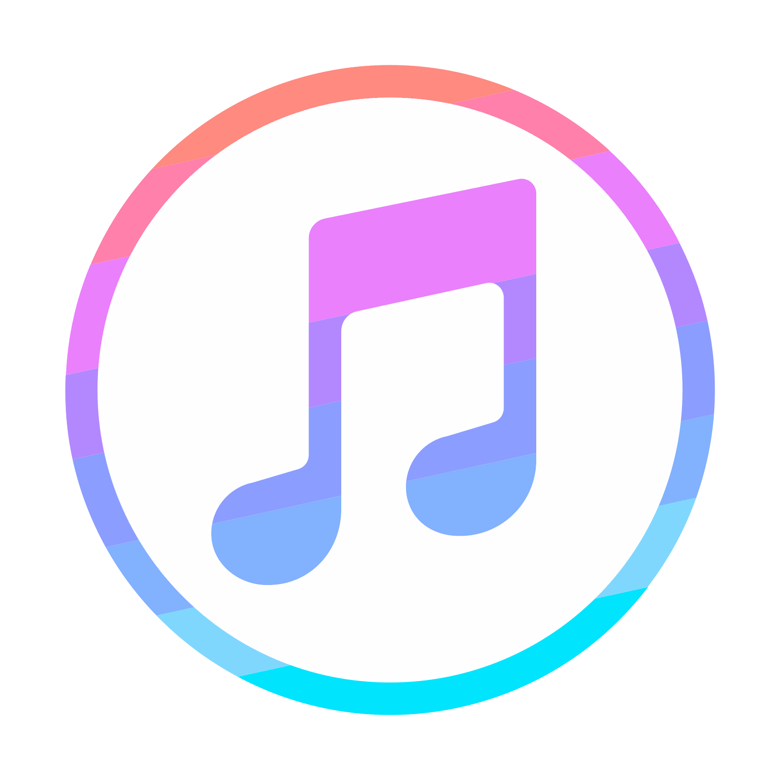 Itunes icon png. Free download and vector