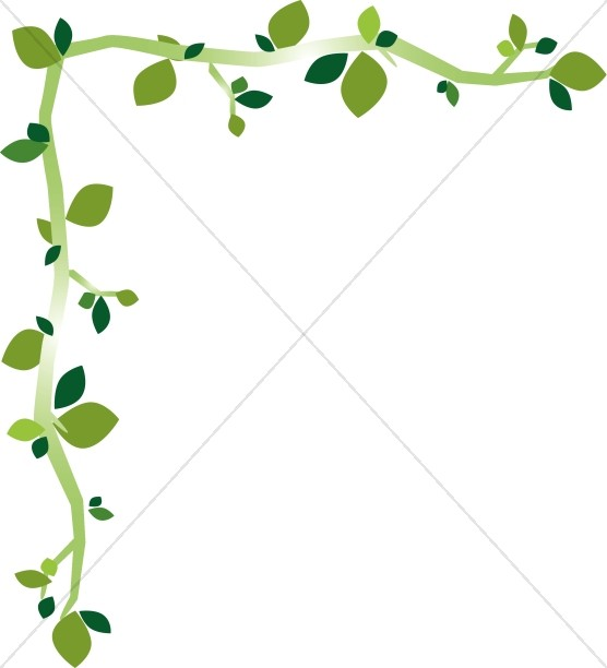 Leaf borders falling leaves. Ivy clipart accent