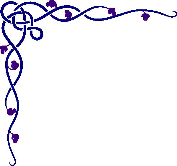 Ivy clipart design. Celtic purple clip art