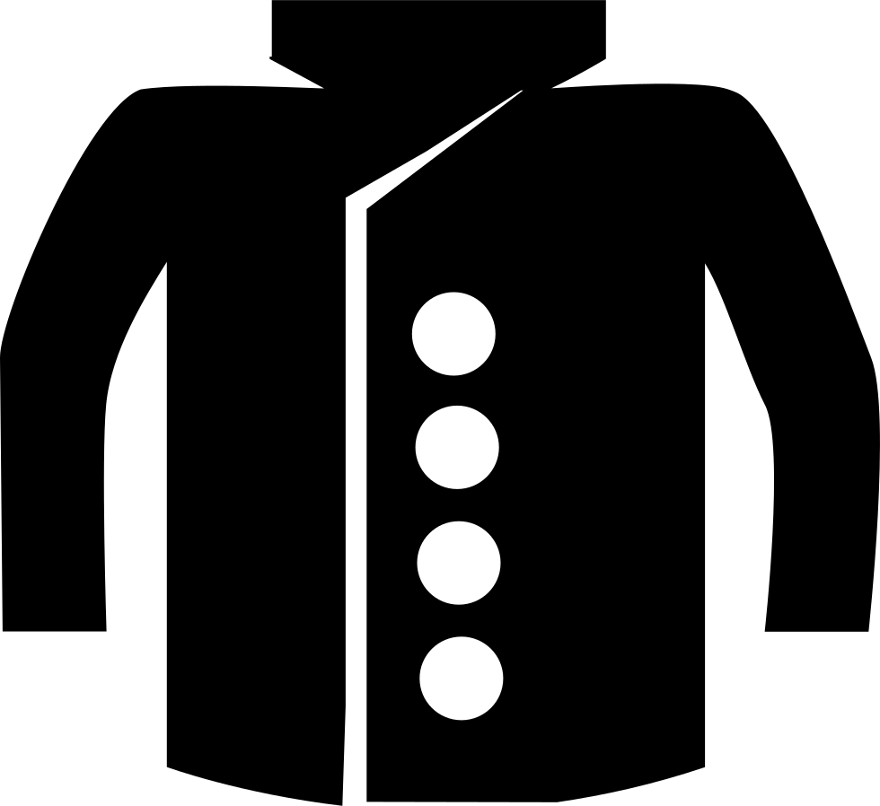 With buttons svg png. Clipart coat baby sweater