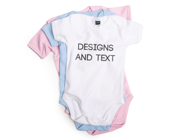 Personalised baby grows clothes. Pajamas clipart babygrow